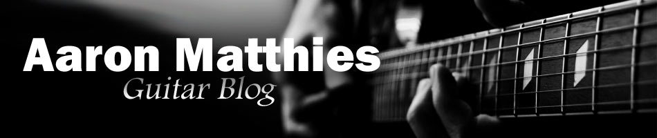 Simple songs for beginners to practice on guitar | Aaron Matthies ...