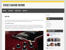 Website for guitar teachers